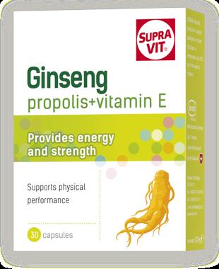 Supravit Ginseng + Propolis (Keo ong)+ Vitamin E
