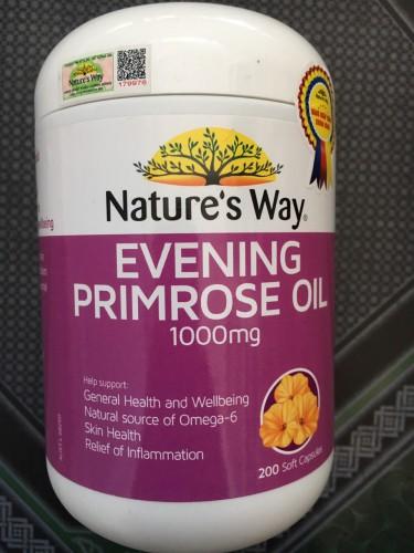 Evening Primrose Oil 1000mg H/500v